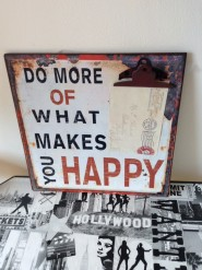 Do More of What Makes You Happy Memo Board